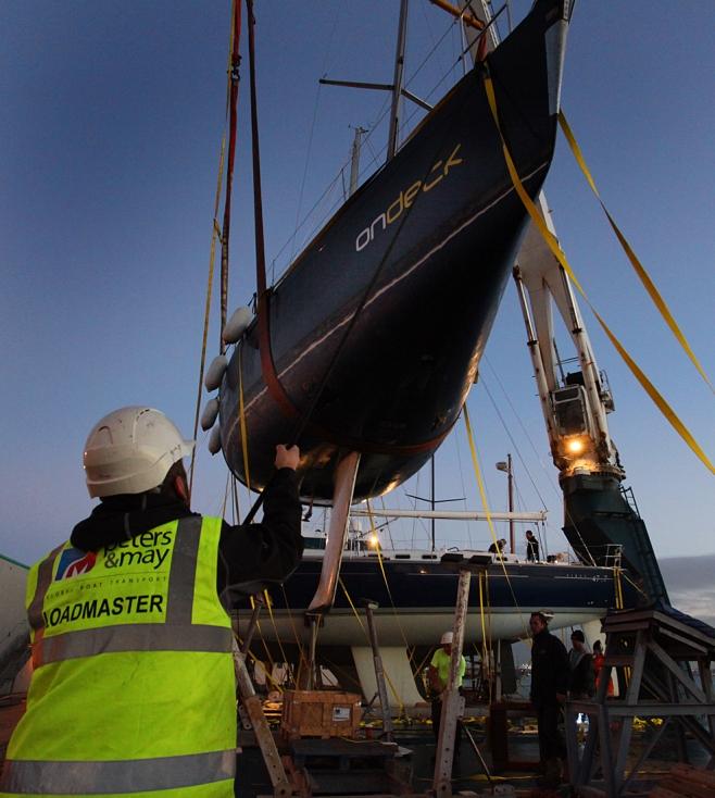 Peters & May Shipping Southampton Docks