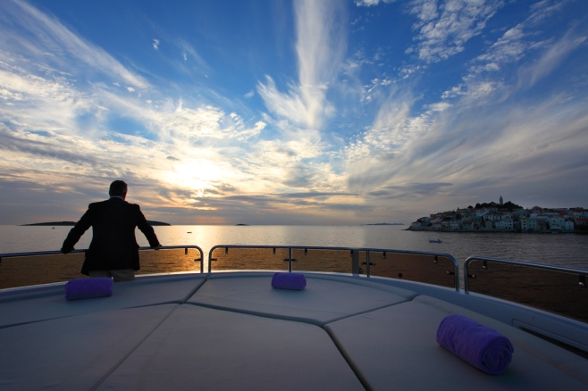 Croatia Charter: A beautiful work environment!